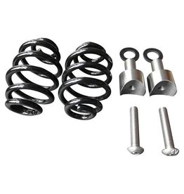 "Saddle Springs Black 3 ""with Mounting Kit"