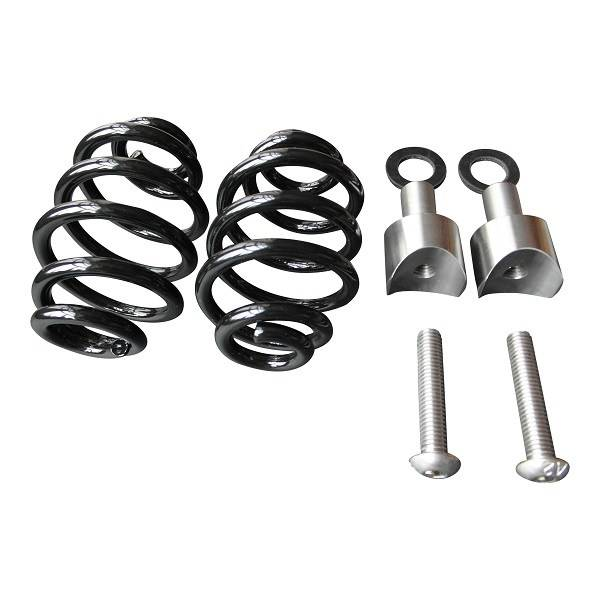 """Kollies Parts Spiral Springs Black 3"""" with Mounting"""