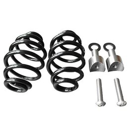 "Saddle Springs Black 4 ""with Mounting Kit"