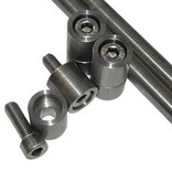 Fender support KIT (stainless steel) - rear mudguard motor mount
