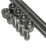Kollies Parts Fender support KIT (stainless steel) - rear mudguard motor mount
