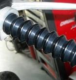 Retro Harley Davidson Grips - Black