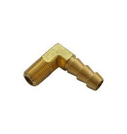 Kollies Parts Slangpilaar 90° 1/8 NPT Messing