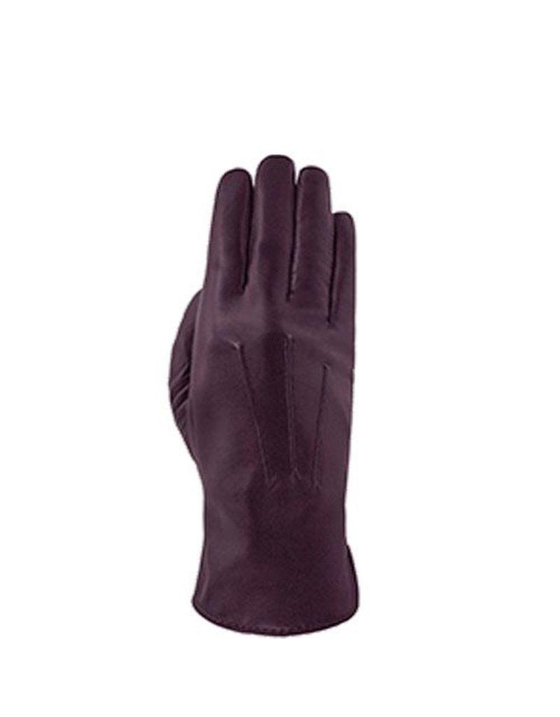 Laimbock Dames handschoen uit de London serie in de kleur Pruim