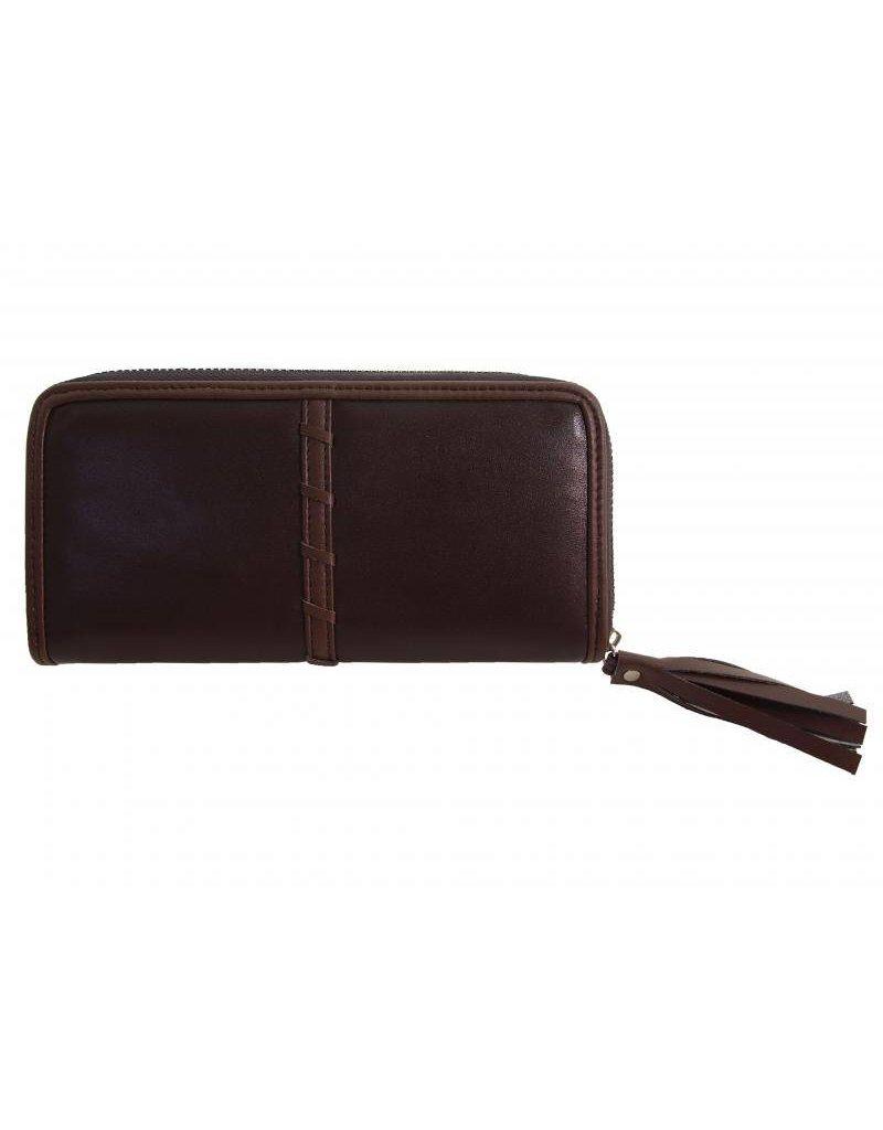 Laimbock Glad leren portemonnee voor dames, model Topella.
