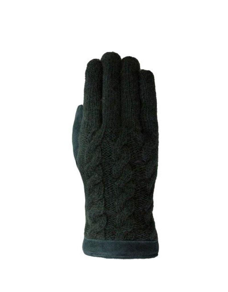 Laimbock Wollen handschoen Trani jungle green