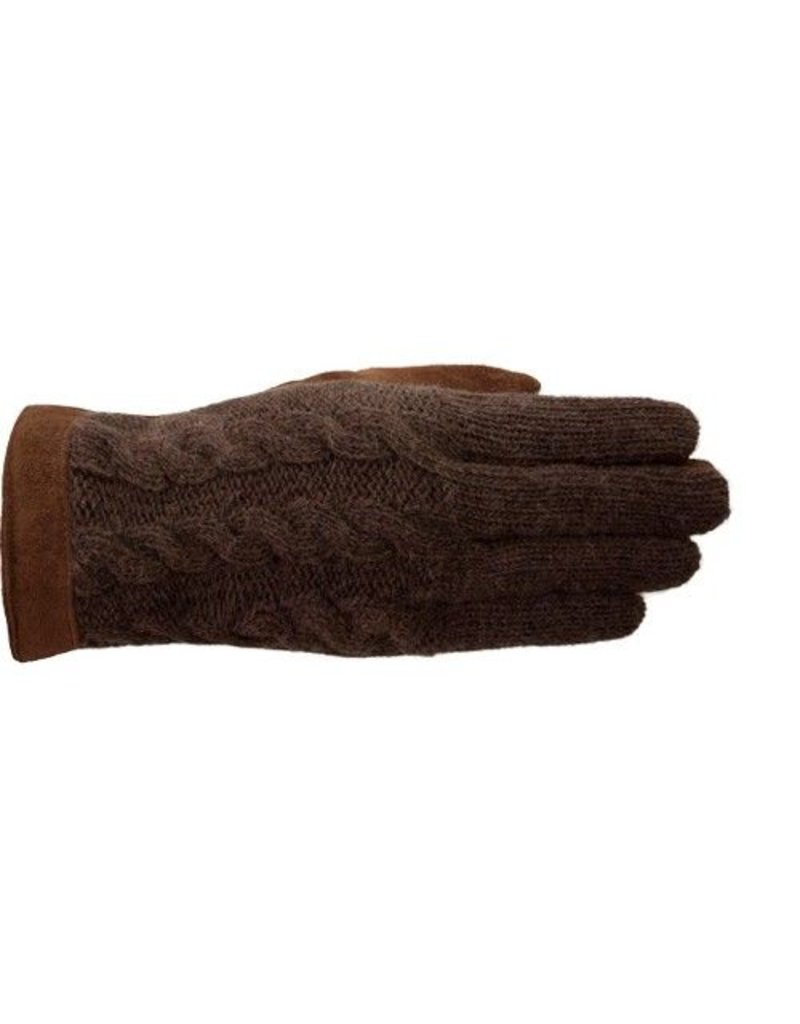Laimbock Wollen handschoen Trani cognac