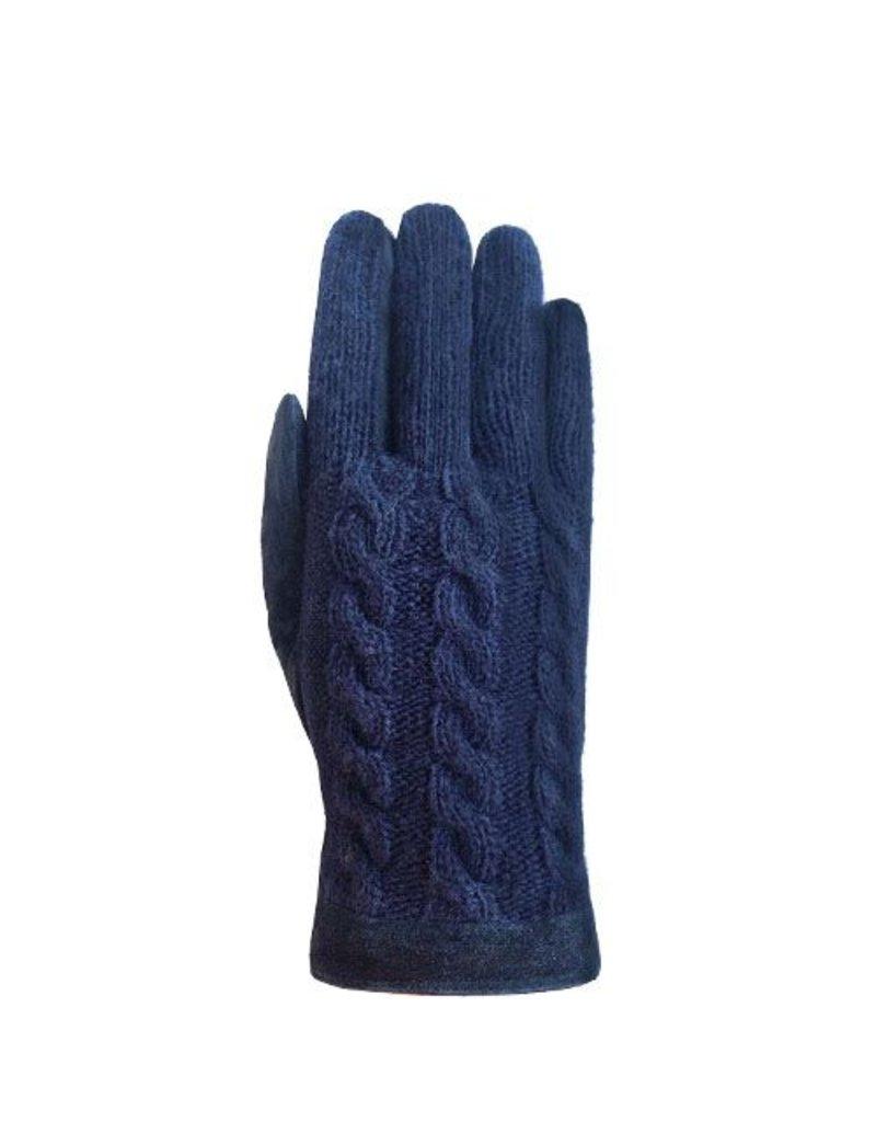Laimbock Wollen handschoen Trani navy