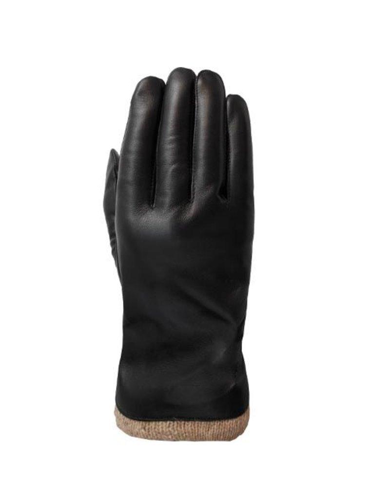 Laimbock Leren heren handschoen met touch screen functie.