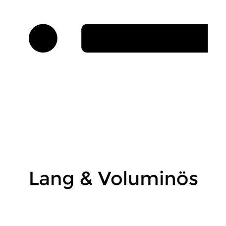 Lang & Voluminös