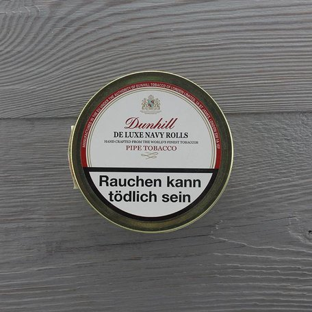 Dunhill Pipe Tobacco - Navy Rolls 50