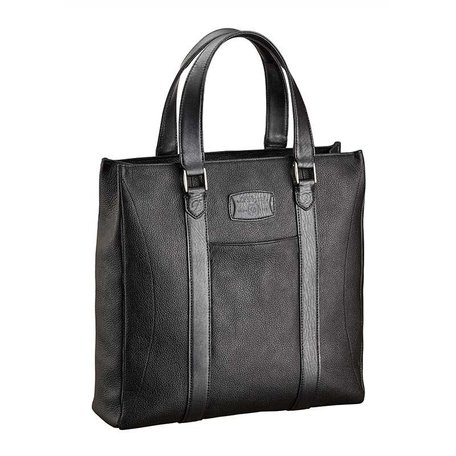 Einkaufstasche, Line D Soft Diamond Grained-Leder