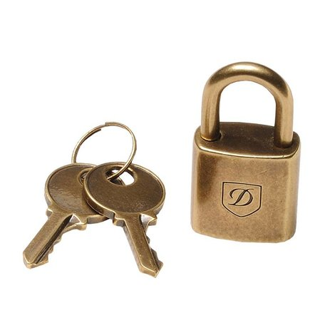 Padlock Old Gold Colour