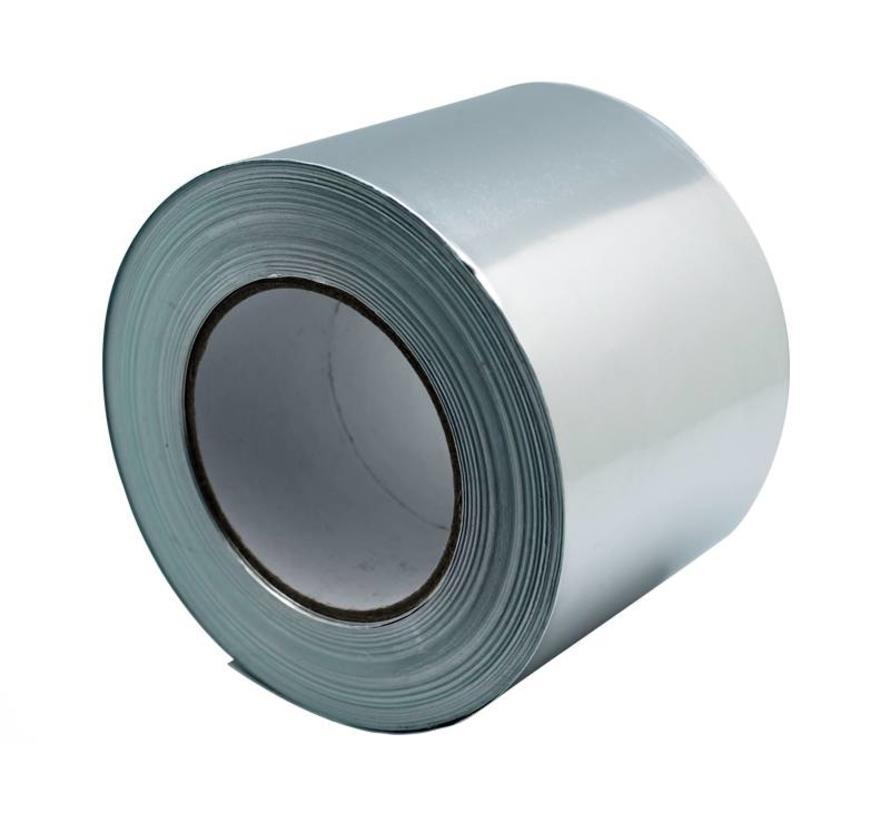 Aluminium tape 50my, 100mmx50m