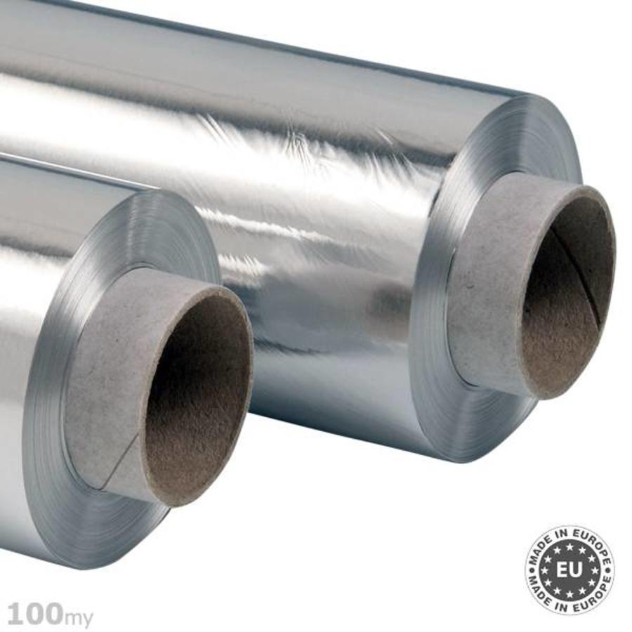 Zelfklevende aluminiumfolie 100my, 100cmx50m