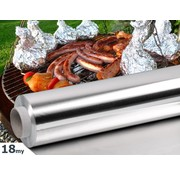 Aluminium BBQ and Grill folie 18my, 45cmx150m