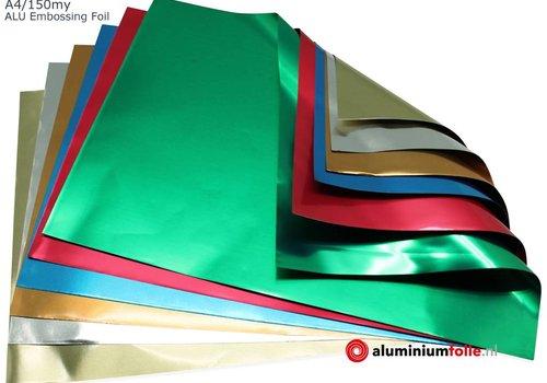 A4 Aluminiumfolie Embossing vellen