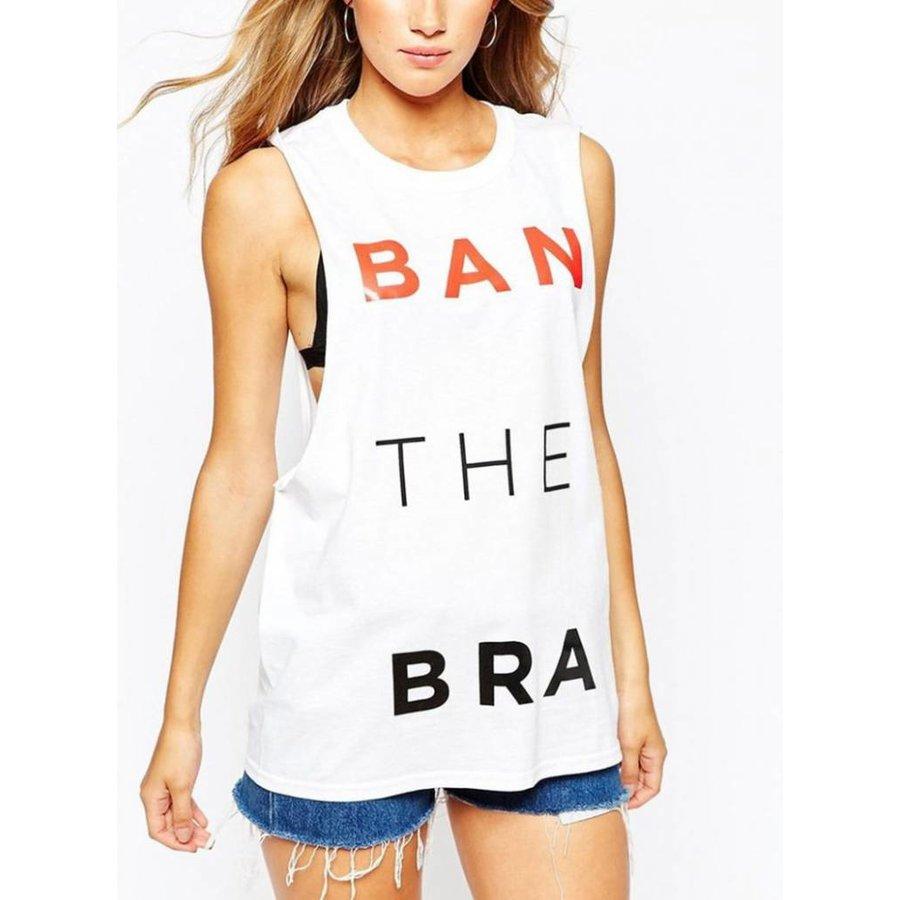 T-shirt white print-6