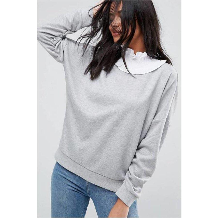 T-shirt white print-2