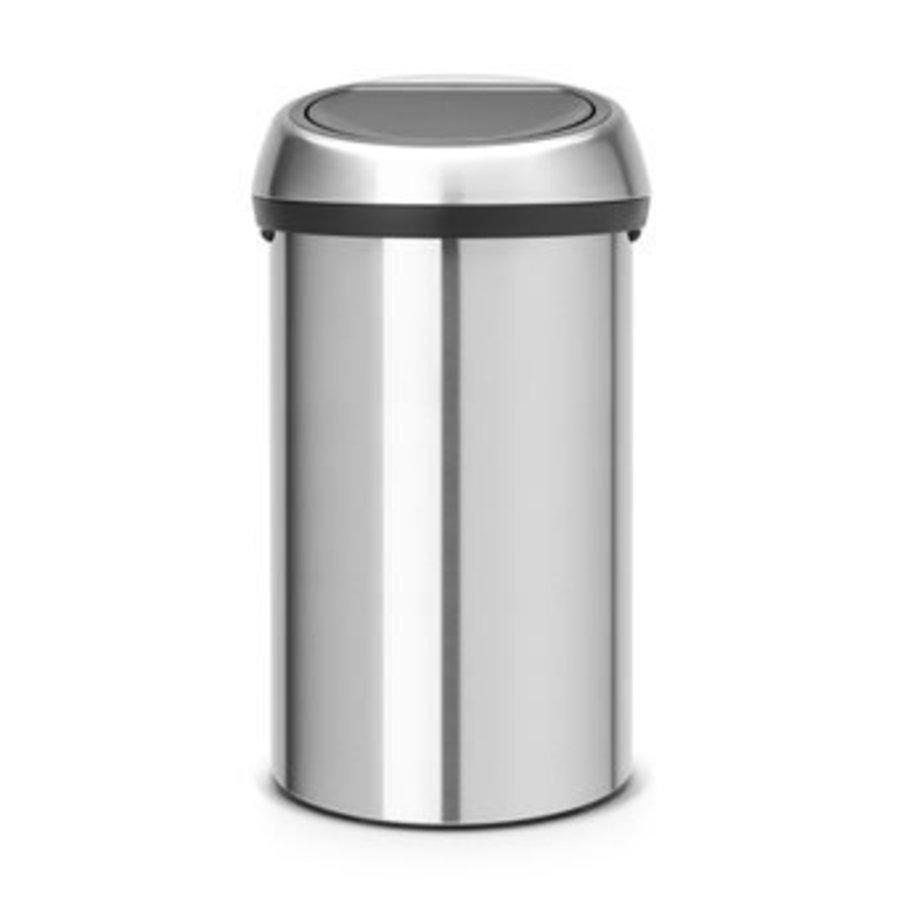 Aluminium trash can