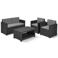 thumb-Black Garden furniture-1