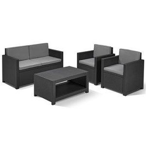Kartell Black Garden furniture