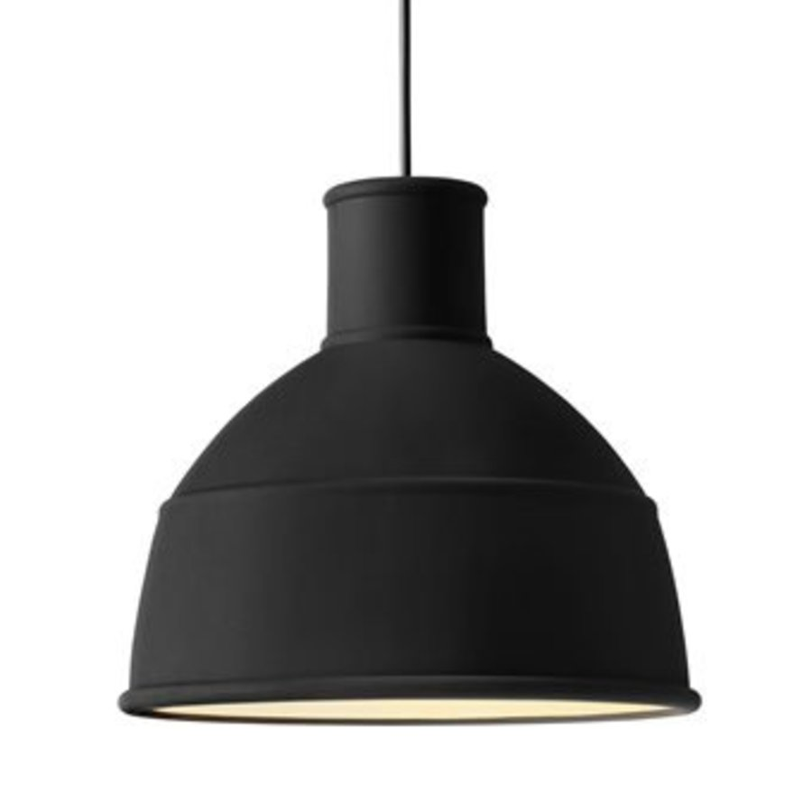 Design lamp zwart