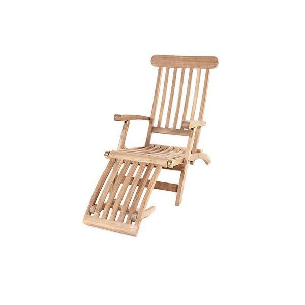 Garden Teak Deckchair (SALE ITEM)
