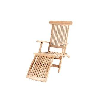 Garden Teak Teak Deckchair - Kingston