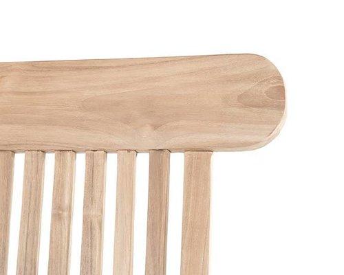 Teak Deckchair - Kingston