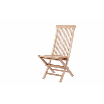 Garden Teak Teak klapstoel  Viking Hoog