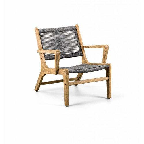 SUNS tuinmeubelen Itea loungestoel | rope