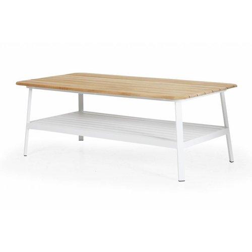 Brafab Olivet salontafel | 100 x 56,5 | Wit