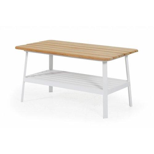 Brafab Olivet salontafel | 150 x 75 cm | Wit
