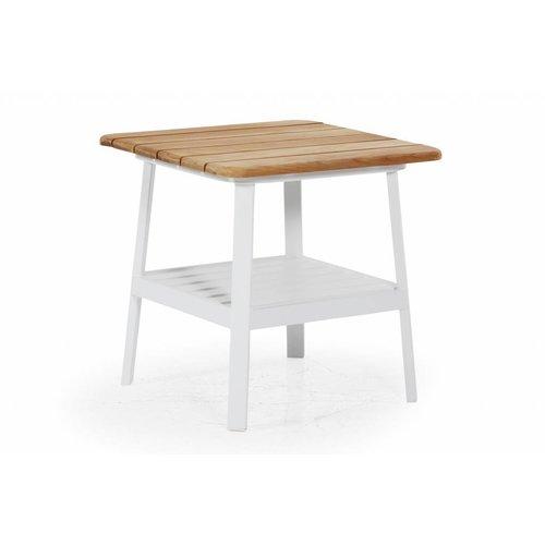 Brafab Olivet salontafel | 56,5 x 56,5 | Wit