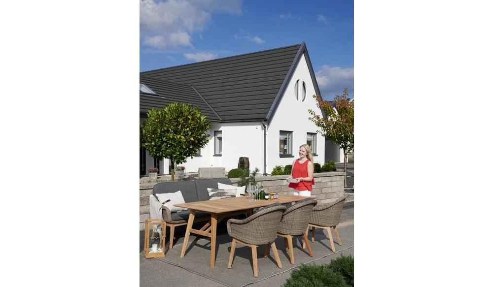 Beverly dining tuinstoel | Taupe