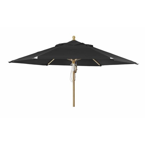 Brafab Parasol Parma | 3,5m⌀ | Black