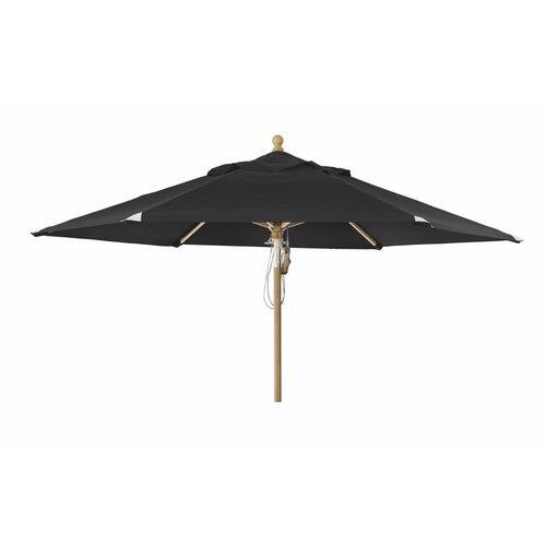 Brafab Parma parasol | 3.5m⌀ | Black