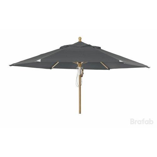Brafab Parma parasol | 3.5m⌀ | Deep grey
