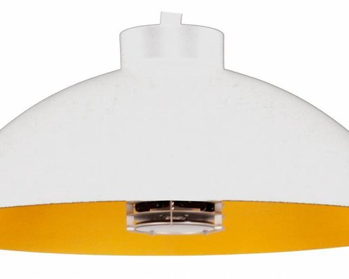 Heater Dome pendel | Mat wit
