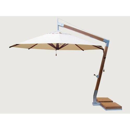Bambrella parasols Bambrella Parasol Side Wind | Ecru| 3x3m
