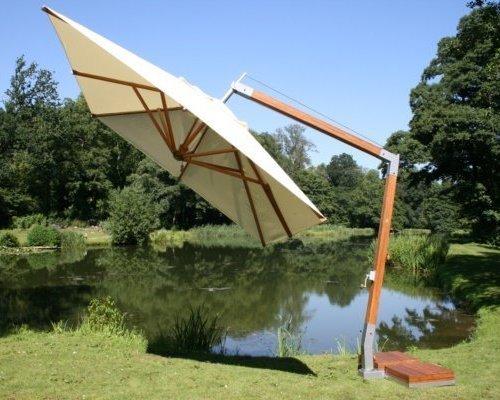Parasol Side Wind | Ecru| 3x3m