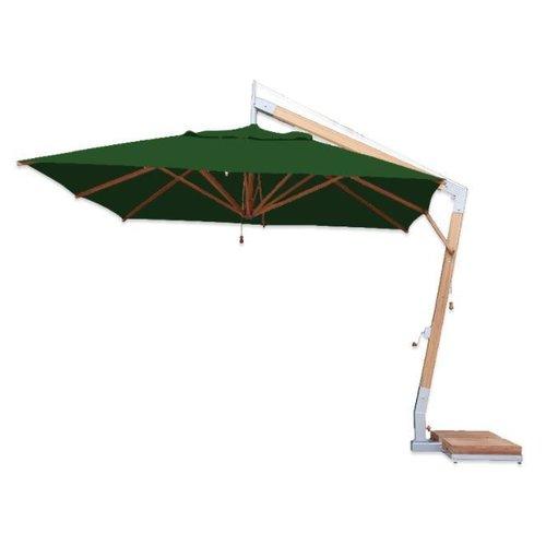 Bambrella parasols Bambrella Parasol Side Wind | Forest Green | 3x3m