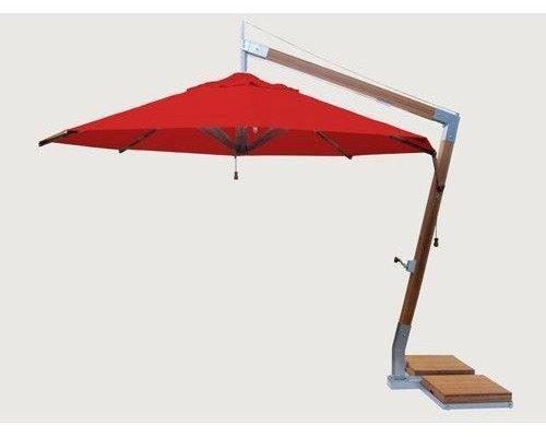 Parasol Side Wind |rood | 3x3m
