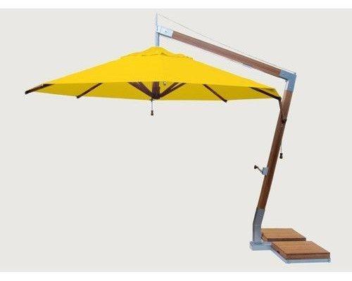Parasol Side Wind |Sunflower yellow |3x3m