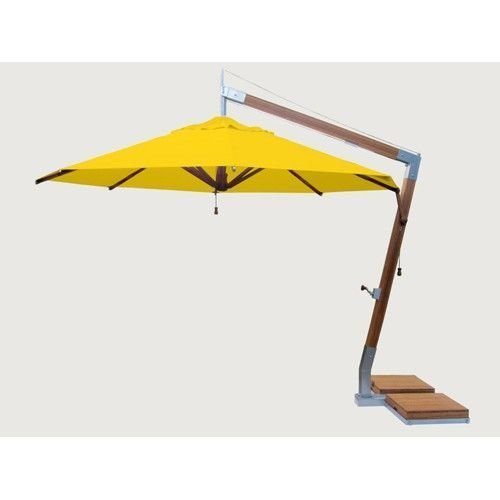 Bambrella parasols Bambrella Parasol Side Wind |Sunflower yellow |3x3m