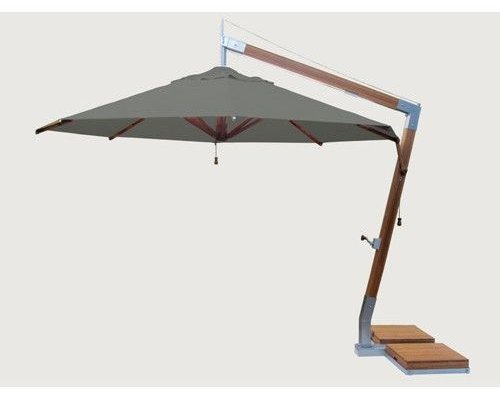 Parasol Side Wind |Taupe |3x3m
