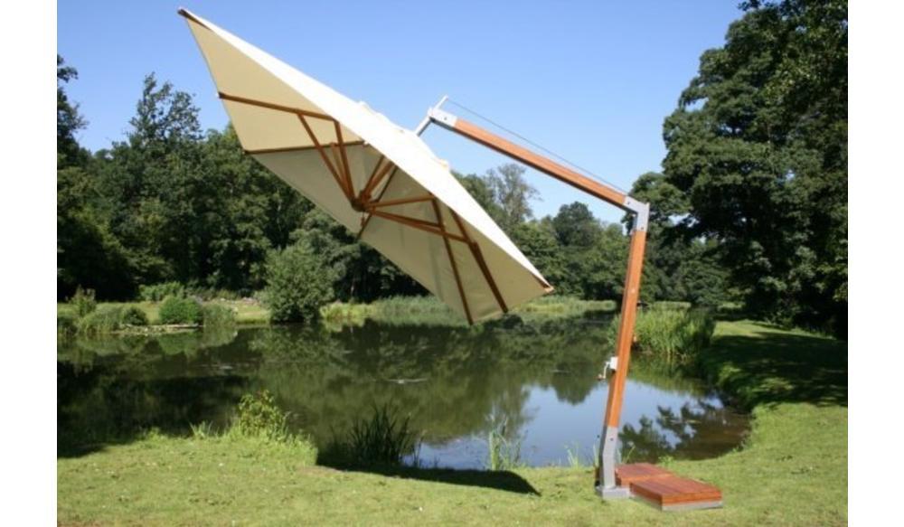 Parasol Side Wind |Terracotta| 3x3m