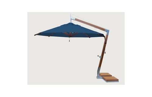 Bambrella parasols Bambrella Parasol Side Wind | blauw | 3x3m