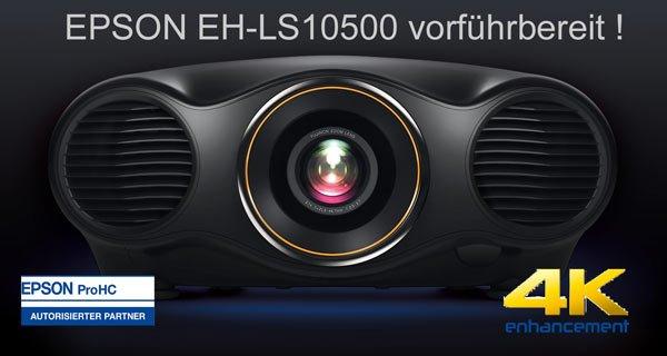 Epson EH-LS10500 seit heute vorführbereit...